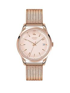 henry-london-henry-london-light-pink-dial-rose-tone-mesh-bracelet-ladies-watch