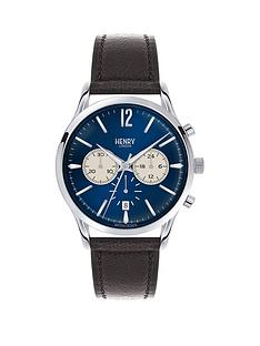 henry-london-henry-london-knightsbridge-blue-dial-chronograph-silver-tone-case-black-leather-strap-mens-watch