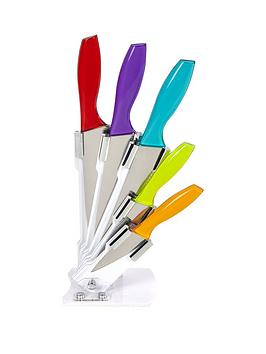 morphy-richards-cook-in-colour-5-piece-knife-block