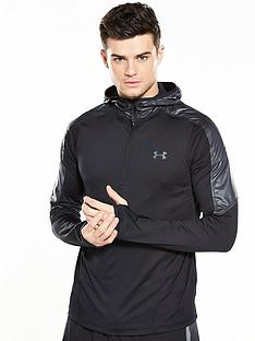 under-armour-supervent-14-zip-hooded-top