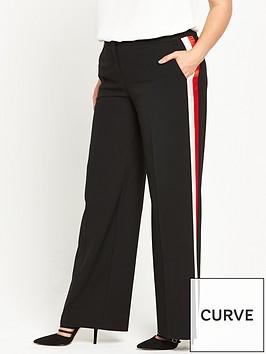 v-by-very-curve-stripe-side-wide-leg-trouser