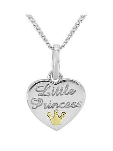keepsafe-keepsafe-sterling-silver-kids-039little-princess039-heart-pendant-with-9ct-gold-crown