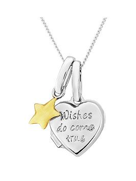 keepsafe-keepsafe-sterling-silver-kids-039wishes-come-true039-heart-locket-with-9ct-gold-star-charm