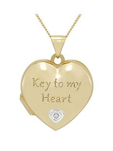 keepsafe-keepsafe-sterling-silver-yellow-gold-plated-039key-to-my-heart039-locket-with-hidden-sterling-silver-key