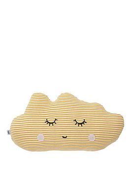 mamas-papas-cushion-yellow-cloud