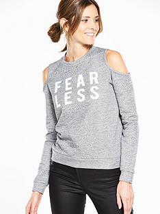 v-by-very-logo-loopback-cold-shoulder-sweatshirt