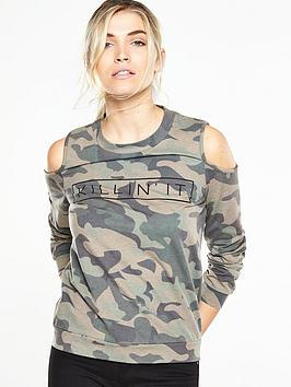v-by-very-logo-loopback-cold-shoulder-sweat