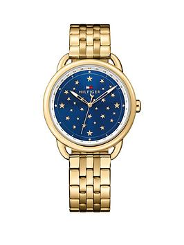tommy-hilfiger-tommy-hilfiger-lucy-blue-star-dial-gold-tone-bracelet-ladies-watch