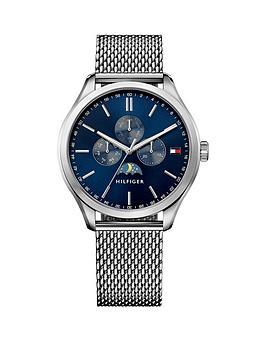 tommy-hilfiger-tommy-hilfiger-oliver-blue-moonphase-dial-silver-tone-mesh-bracelet-mens-watch