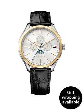 tommy-hilfiger-tommy-hilfiger-oliver-white-moonphase-dial-black-leather-strap-mens-watch