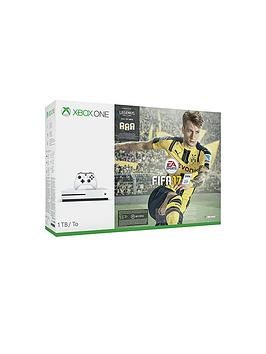 xbox-one-s-s-1tb-white-console-with-fifa-17-with-optional-extra-controller-and-12-months-live-subscription