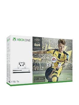 xbox-one-s-xbox-one-s-1tb-console-with-fifa-17-plus-optional-extra-dualshocknbspcontroller-andor-12-months-xboxnbsplive