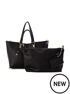 oasis-nancy-shopper-black