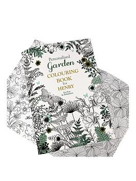 personalised-gardening-colouring-book
