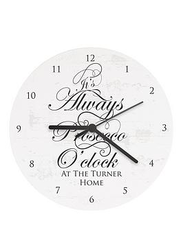 personalised-its-always-prosecco-oclockhellip-wooden-clock