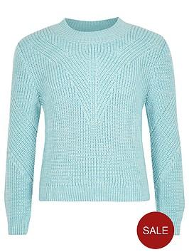 river-island-girls-turquoise-knit-zip-jumper