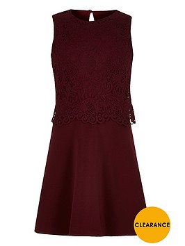 river-island-girls-layered-lace-skater-dress