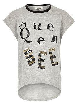 river-island-girls-light-grey-queen-bee-t-shirt