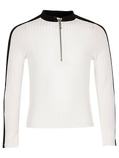 river-island-girls-ribbed-zip-top