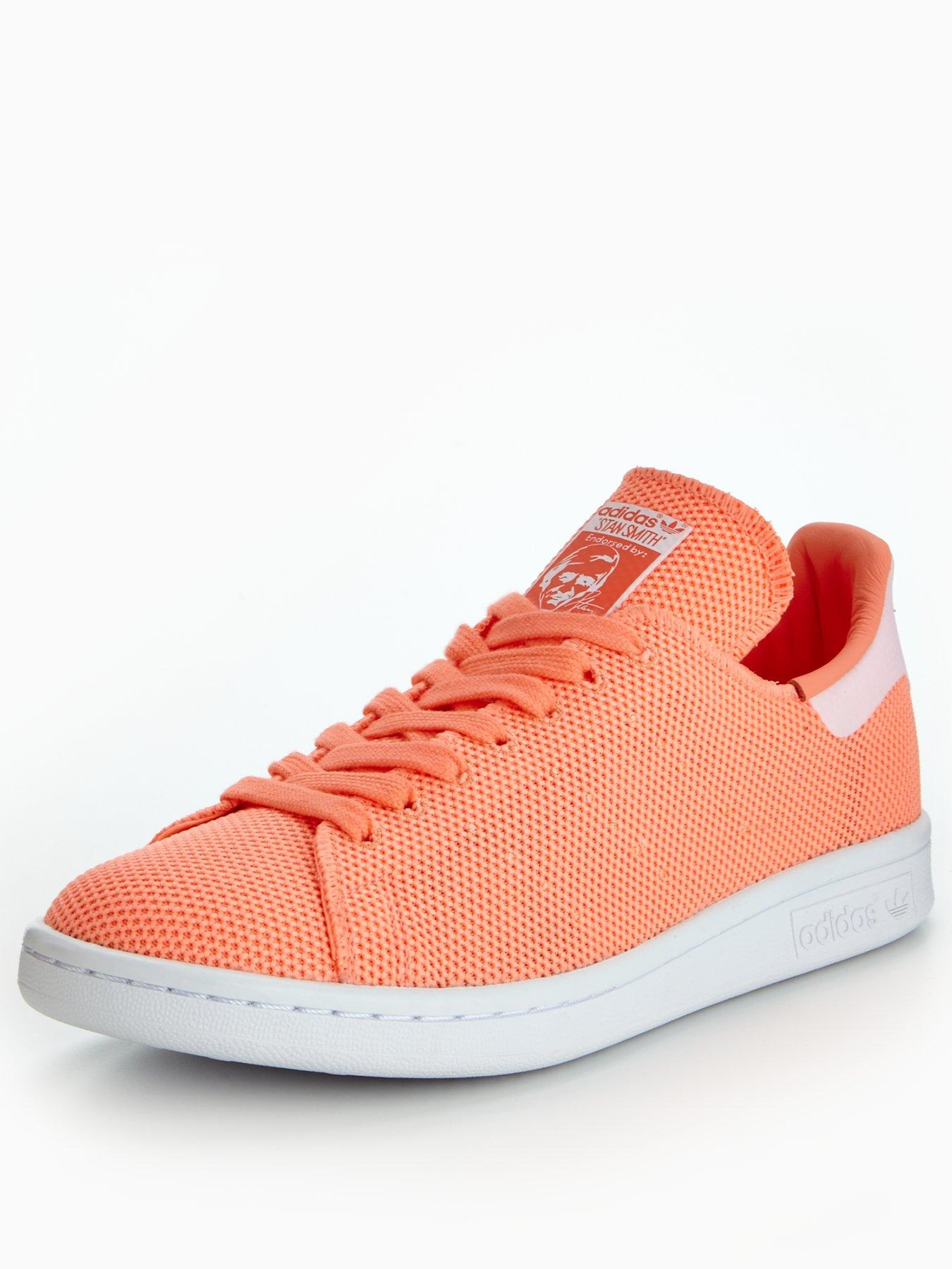 adidas Originals Stan Smith Orange 1600109501 Women's Shoes adidas Originals Trainers