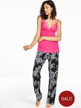 v-by-very-paisley-viscose-printed-cami-pyjama-set
