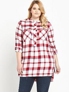 so-fabulous-checked-tunic-shirt