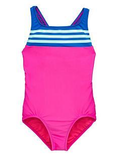adidas-older-girls-3-stripe-swimsuit