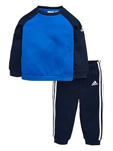 adidas-baby-boys-fleece-crew-set
