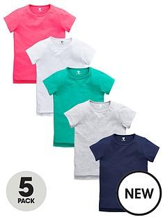 v-by-very-girls-t-shirts-5-pack