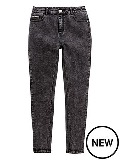 v-by-very-girls-high-waisted-dark-grey-skinny-jeans