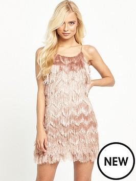 glamorous-tiered-tassel-cami-dress-dusty-pink