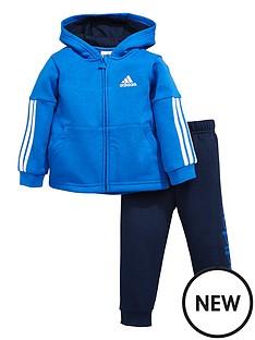 adidas-baby-boys-fleece-hooded-suit