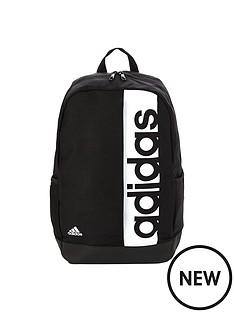 adidas-boys-linear-logo-backpack