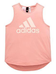 adidas-older-girls-logo-vest-top