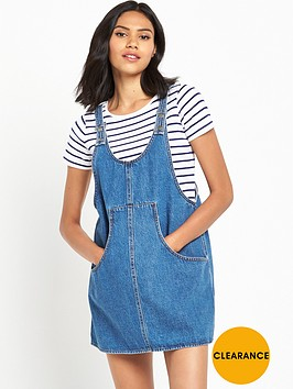 noisy-may-celina-dungaree-dress
