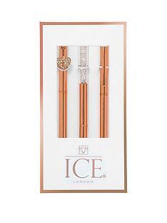 ice-london-rose-gold-pen-trio