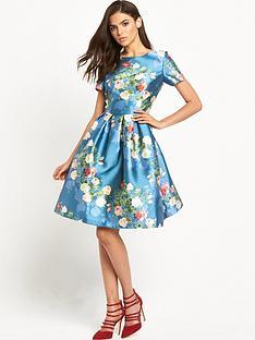 chi-chi-london-chi-chi-london-prom-floral-midi-skater-dress