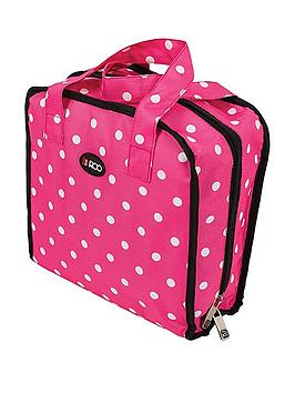 roo-beauty-bitzee-cosmeticaccessory-bag-pink-polka-dot