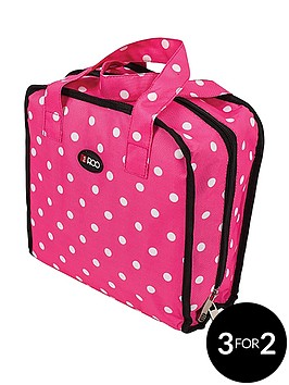 roo-beauty-bitzee-cosmeticaccessory-bag-pink-polka-dot