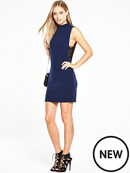 v-by-very-lace-side-panel-bodyconnbspmini-dress