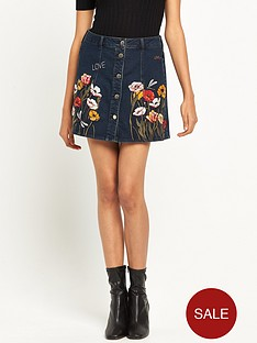 river-island-embroidered-a-line-denim-skirt
