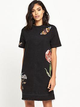 river-island-embroidered-denim-dress
