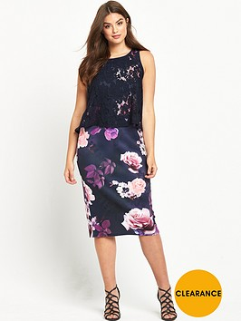 so-fabulous-curve-double-layer-scuba-midi-dress-floral-print