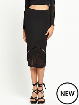 river-island-studded-mesh-knit-pencil-skirt