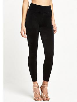river-island-high-waisted-velvet-leggings