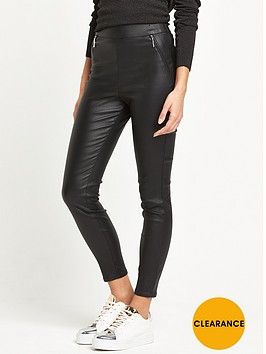 river-island-black-coated-leggings