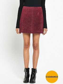 river-island-suede-a-line-skirt