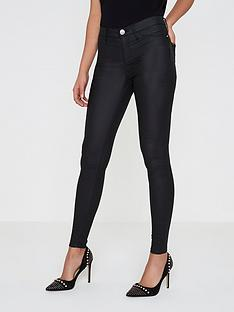 river-island-river-island-mid-rise-coated-skinny-jeans