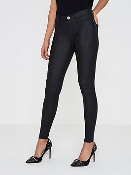 river-island-river-island-mid-rise-coated-skinny-jeans