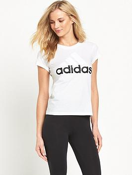 Essentials adidas nbsp Tee Linear Wholesale Price Cheap Online Footaction For Sale Clearance Find Great Cheap For Nice dox9Vsf4